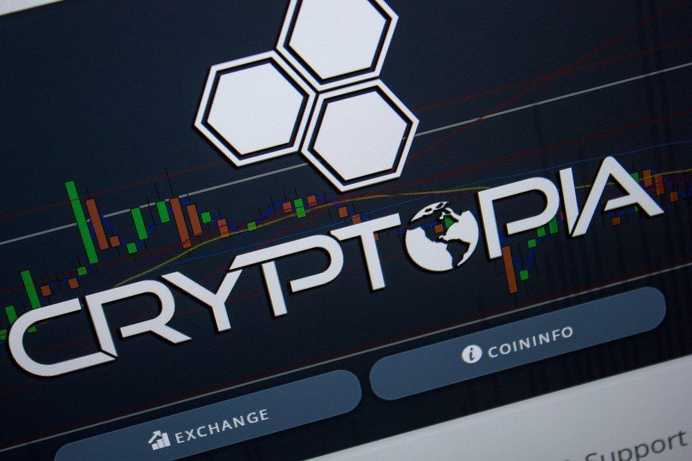 Регистрация на площадке Криптопия